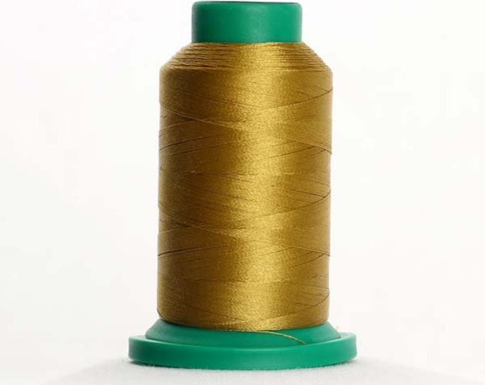 ISACORD Polyester Embroidery Thread Color 0442 Tarnished Gold 1000m