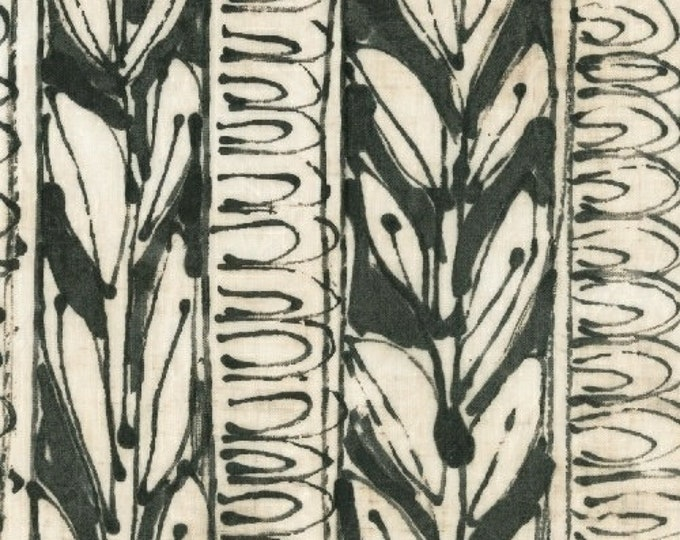 NEW Windham Art History 101 by Marcia Derse Sumi Black and White Fabric 50412-1 BTY