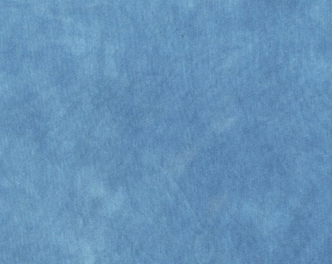 Windham Palette Marcia Derse Tonal Solid GIOTTO BLUE Dusty Cornflower Modern Fabric 37098-43 BTHY