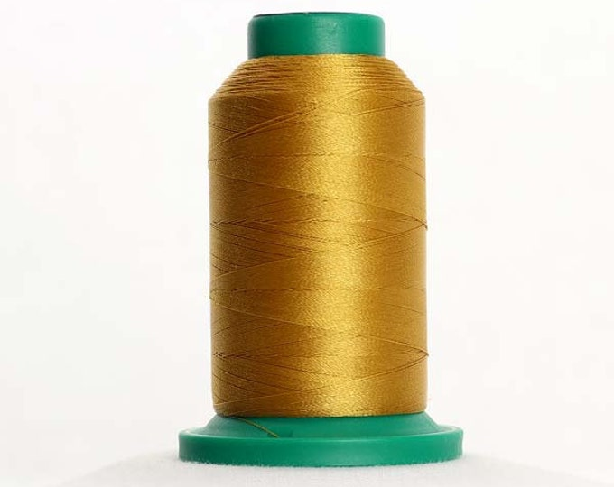 ISACORD Polyester Embroidery Thread Color 0542 Ochre 1000m