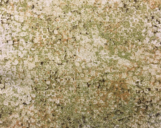 Northcott Stonehenge Slate Cream Sage Green Taupe Mottled Marble Basic Fabric 39060-68 BTY