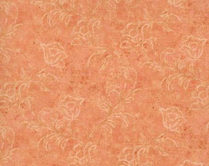 RJR 6342-013 Jinny Beyer Palette - Textured Bud - Salmon Fabric BTY