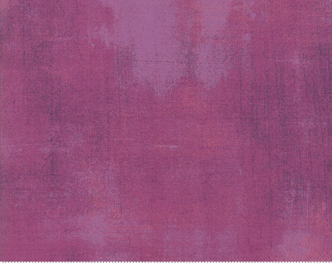 Moda Grunge Basics New BERRY PIE Purple Pink Mauve Mottled Background 30150-476 Fabric BTY