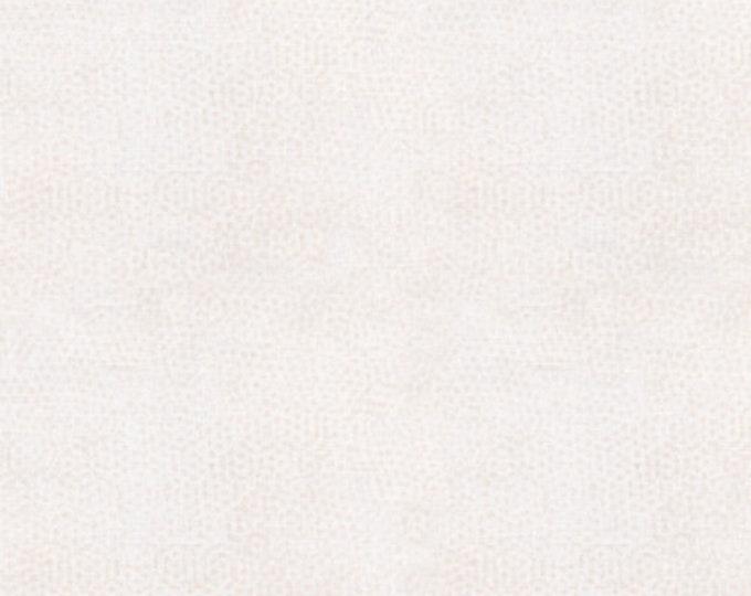 Andover Dimples Gail Kessler Basic Textured Blender Almond Milk Cream Off White 1867-L2 BTY