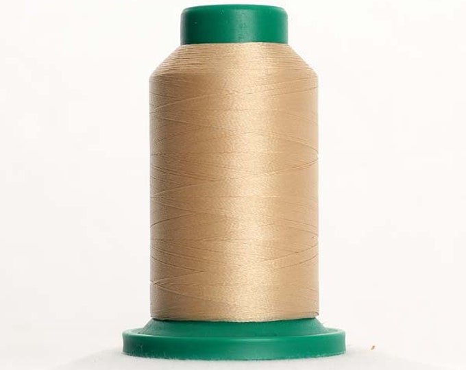 ISACORD Polyester Embroidery Thread Color 0761 Oat 1000m