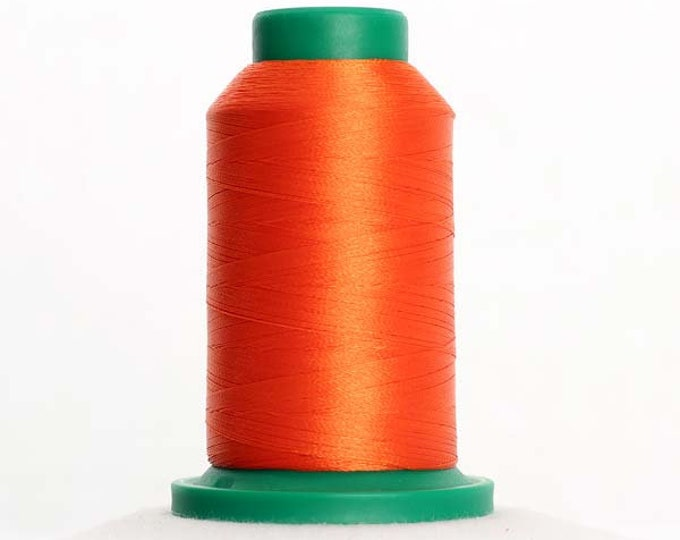 ISACORD Polyester Embroidery Thread 1310 Hunter Orange 1000m