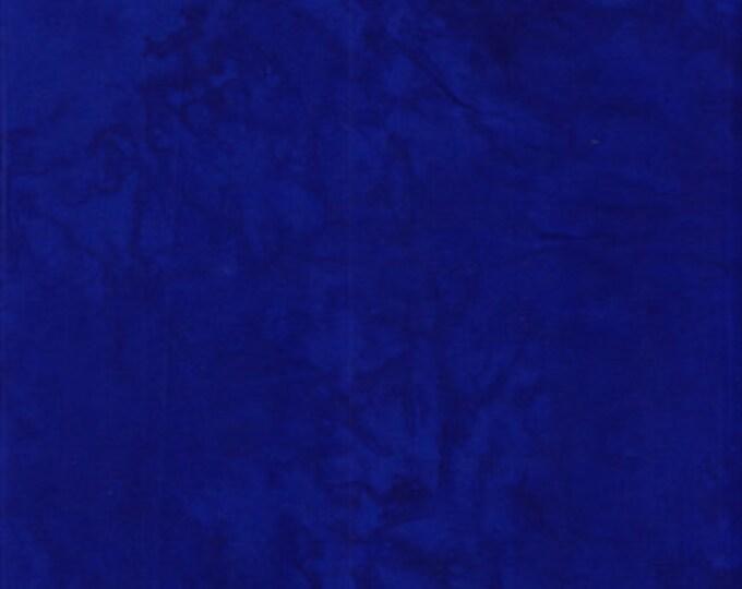 Anthology Art Inspired Batik Basic Solids Royal Blue Cobalt Fabric 1637 BTY