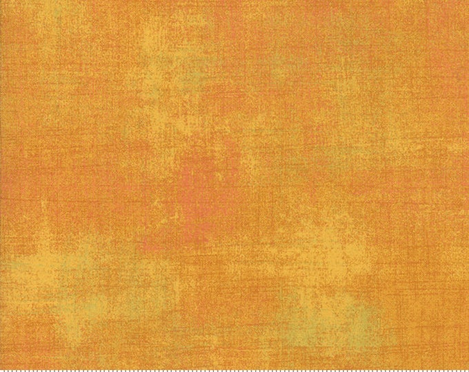 Moda Grunge Basics New BUTTERSCOTCH Yellow Orange Background 30150-421 Fabric BTHY