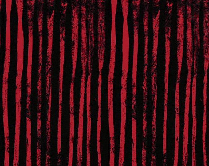 NEW Windham LINE by Marcia Derse Cherry Black Pink Red Fabric 50410-31 BTY