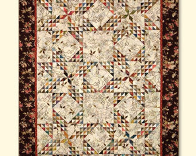 Edyta Sitar Dancing Star Laundry Basket Quilts 61 x 72 Quilt Pattern