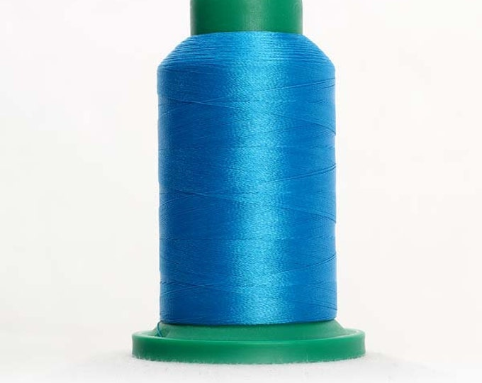 ISACORD Polyester Embroidery Thread Color  4103 California Blue 1000m