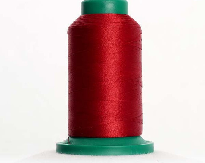 ISACORD Polyester Embroidery Thread 1913 Cherry 1000m