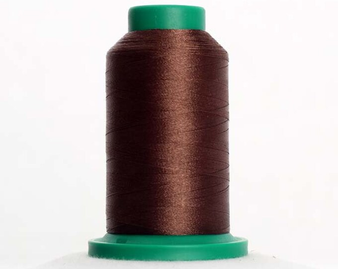 ISACORD Polyester Embroidery Thread Color 0945 Pine Park 1000m