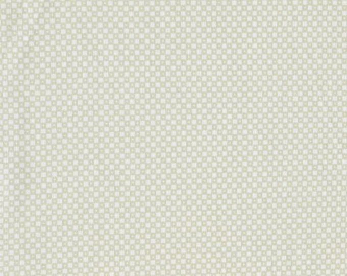 Mesa Cotton and Steel Dining Car Snow Off white Cream Tonal Solid Alexia Abegg Fabric BTY