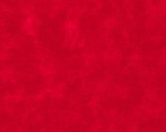 Moda Marble Marbles FLAG RED Mottled Background Fabric 9880-92 BTY