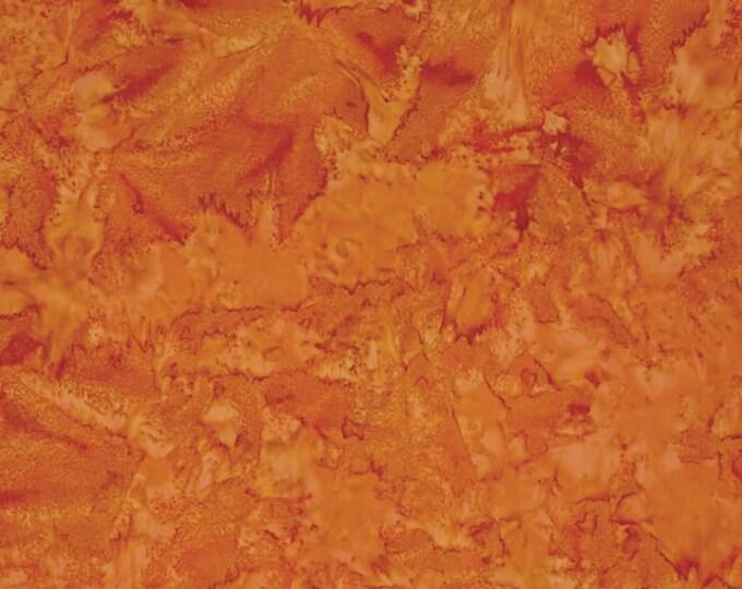 Island Batik Basics Copper Rust Brown Batik Fabric  BTY