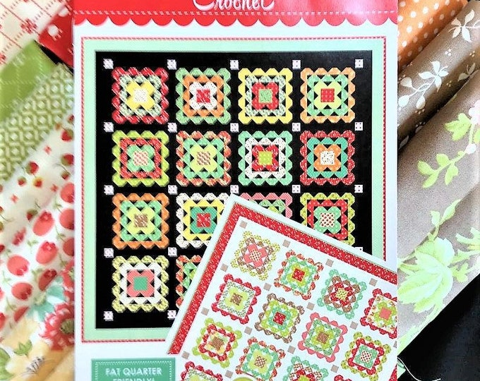 Scarlet & Sage Quilt Kit by Fig Tree and Co. for Moda-KIT20360