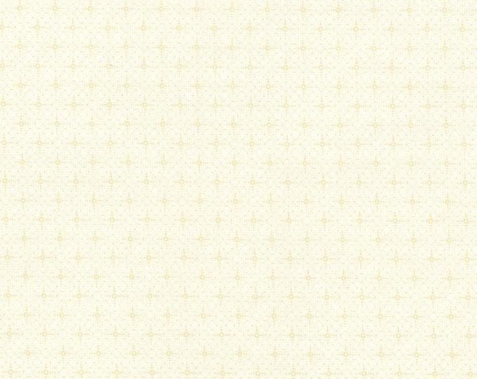 RJR Christmas Remembered Lynette Jenson Thimbleberries Cream Dot Cross 2776-003 Fabric BTY