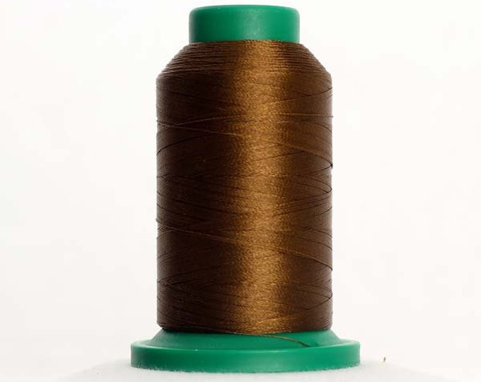 ISACORD Polyester Embroidery Thread Color 0747 Golden Brown 1000m