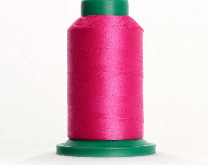 ISACORD Polyester Embroidery Thread Color 2508 Hot Pink 1000m