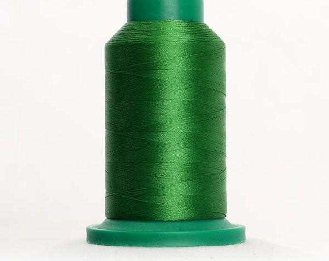 ISACORD Polyester Embroidery Thread Color 5722 Green Grass 1000m