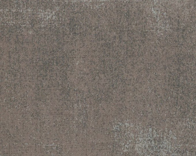 Moda Basic Grey Grunge GREY with Light Grey Patches 30150-156 Fabric BTY