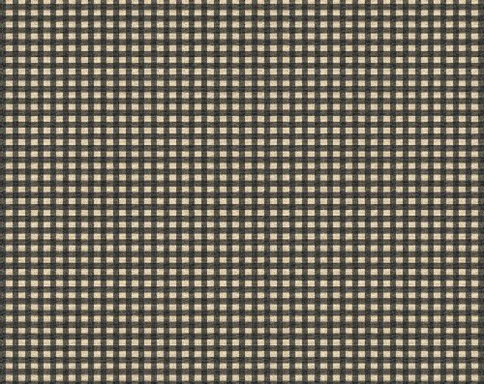 Windham Fabrics Basics Squares Brown Background with tan square  cotton 27684-5  BTY