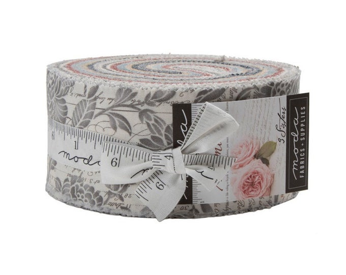 Moda Memoirs Jelly Roll - 3 Sisters - 44210JR Moda Precuts  2.5 Fabric Strips