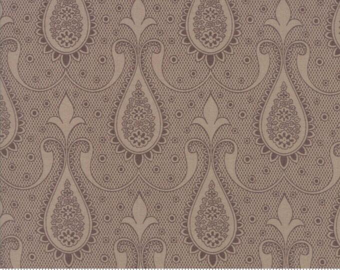 Moda Sweet Blend Muffin Tan Fleur Laundry Basket Quilts Edyta Sitar 42293-21 Fabric BTY