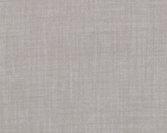 Moda Weave Woven Look Grey Gray Taupe Hatched Fabric 9898-76 BTHY