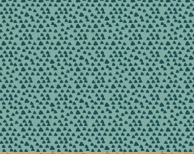Windham Crossroads  Little Tinies Teal light and dark Fabric  Cotton 40413-8  BTY