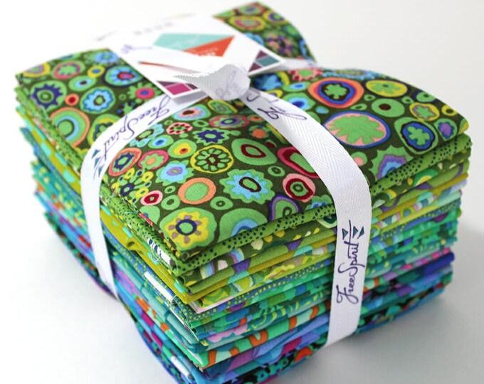 Free Spirit Rowan Kaffe Fassett Island Green Blue Teal Classics Fabric 20 Fat Quarters Bundle