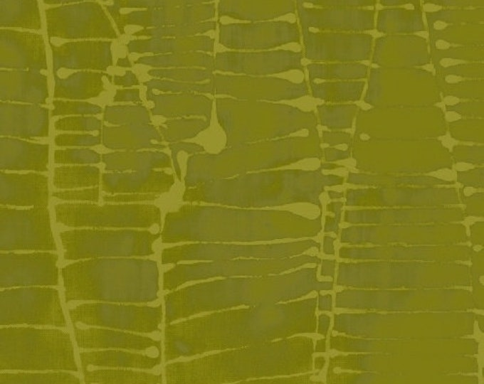 NEW Windham Art History 101 by Marcia Derse Wald Klee Walking Chartreuse Green Tonal Fabric 50419-23 BTY