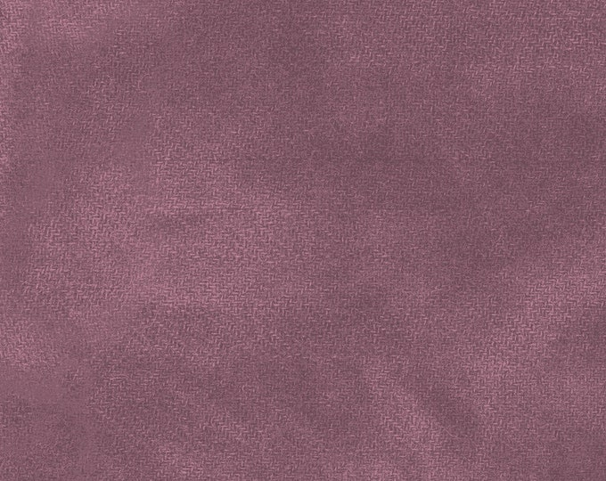 Maywood WOOLIES Color Wash Flannel Fabric Eggplant Purple Violet 9200-V2 BTHY