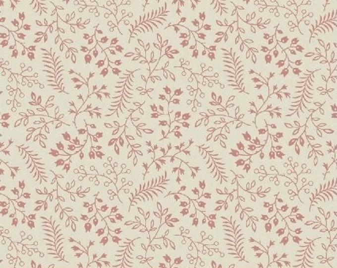 Windham Madeline Julie Hendrickson Cream with Pink Chain Civil War Fabric BTY  MADELINE 43464-2