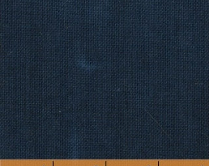 Windham Palette Marcia Derse Tonal Solid INDIGO Navy Blue Modern Fabric 37098-64 BTHY