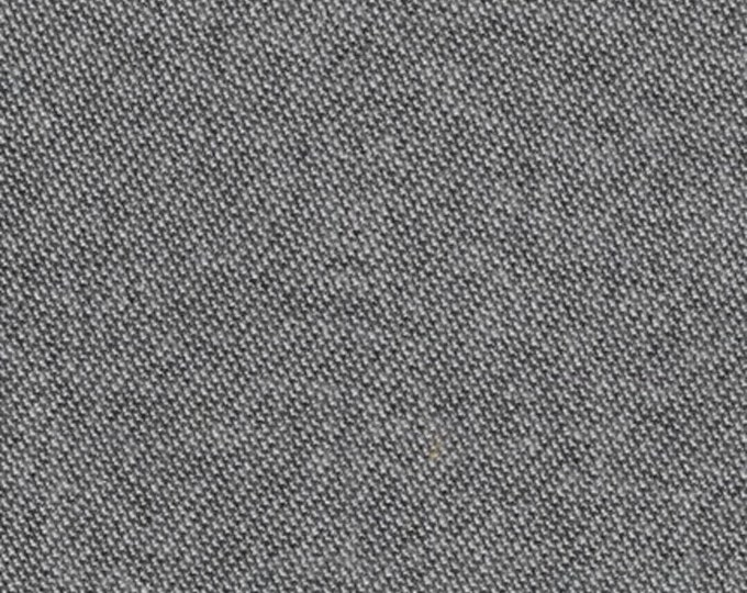 Kaufman Shetland Flannel Black Charcoal Smoke Fabric SKRF-15612-12 BTY