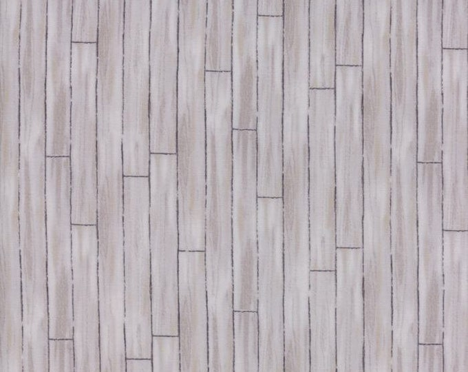 Moda Homegrown Deb Strain Light Gray Grey Dove Wooden Plank Floor Farmhouse Fabric BTY 19828-13