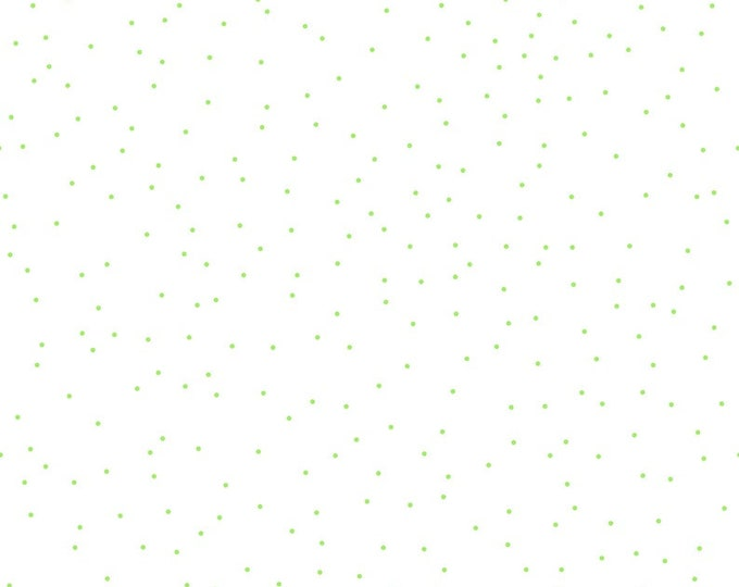 GREEN Pin Dot Basic Quilting Fabric C705 Riley Blake BTY 100% Cotton