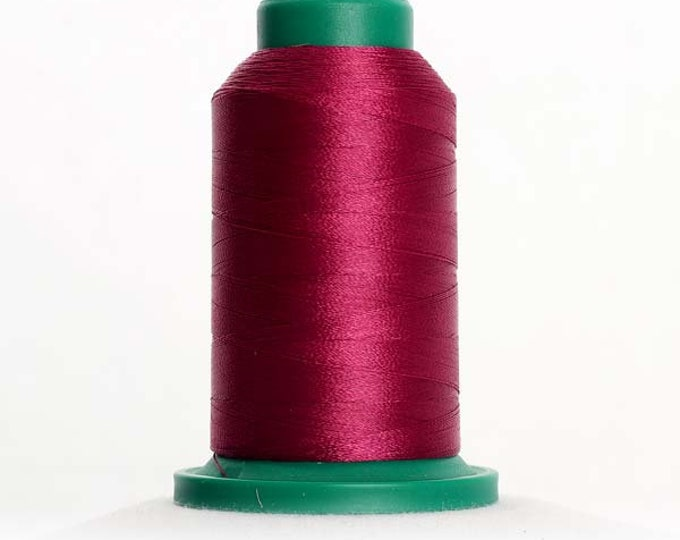 ISACORD Polyester Embroidery Thread Color 2500 Boysenberry 1000m