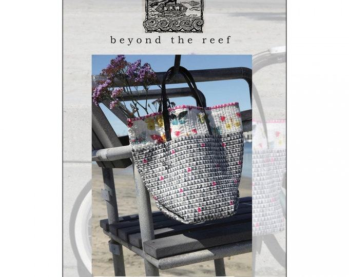 Beyond the Reef Bucket Bag Modern Bag Purse Quilt Pattern
