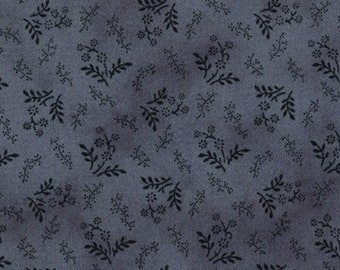 Moda OLD GLORY Gatherings Medium Blue Floral Patriotic Primitive Gatherings Fabric 1076-20