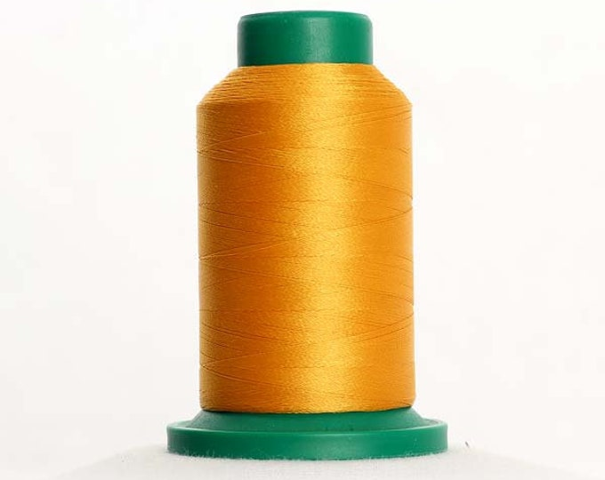 ISACORD Polyester Embroidery Thread Color 0704 Gold 1000m