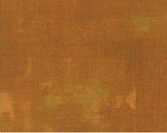Moda Grunge Basics YAM Gold Orange Mottled Background Fabric 30150-422 Fabric BTHY