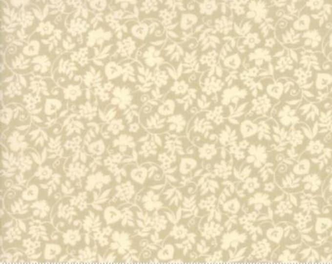 Moda Merry Go Round American Jane Beige Cream Tan Floral OOP Fabric 21723-20 BTY