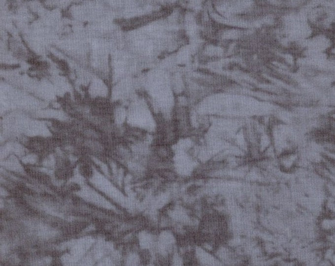 RJR Handspray Mottled Charcoal Grey Gray Smoke Tonal Fabric 4758-091 BTY