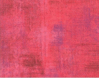 Moda Grunge Basics TEABERRY Pink Purple Mottled Background Fabric 30150-329 BTY