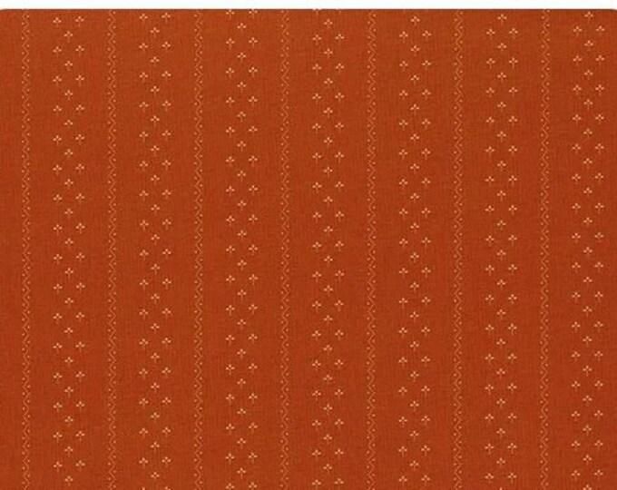 ModaFlower Garden Gatherings Marigold Clover Stripe Yardage SKU# 1240-18 BTY