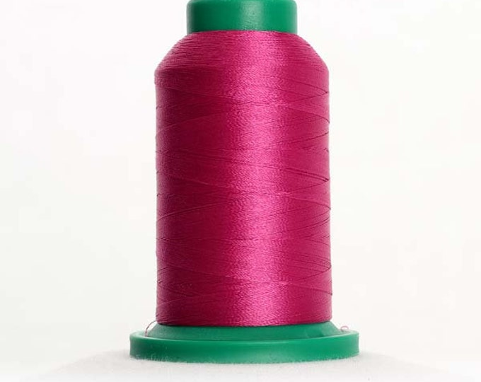 ISACORD Polyester Embroidery Thread Color 2723 Peony 1000m