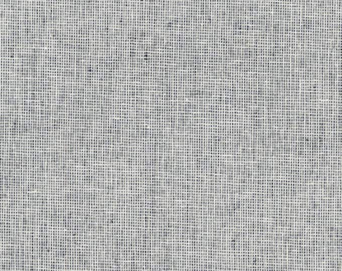 Kaufman Essex Yarn Dyed Homespun Cotton Linen Blend Canvas Indigo Blue Fabric E114-1178 3.75 yards